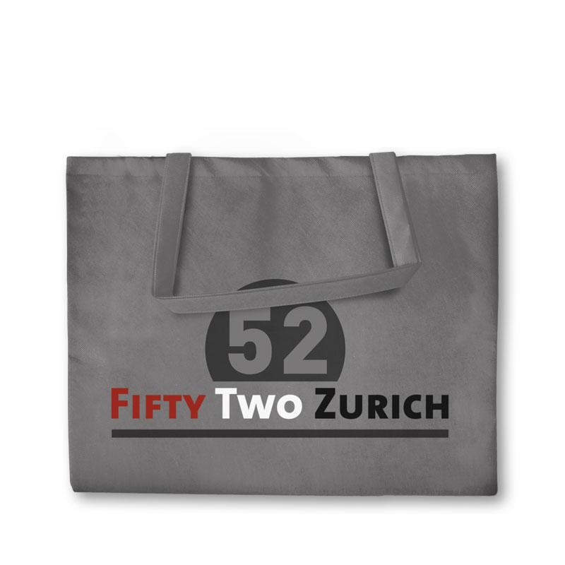 Non-Woven Tasche Zürich in grau