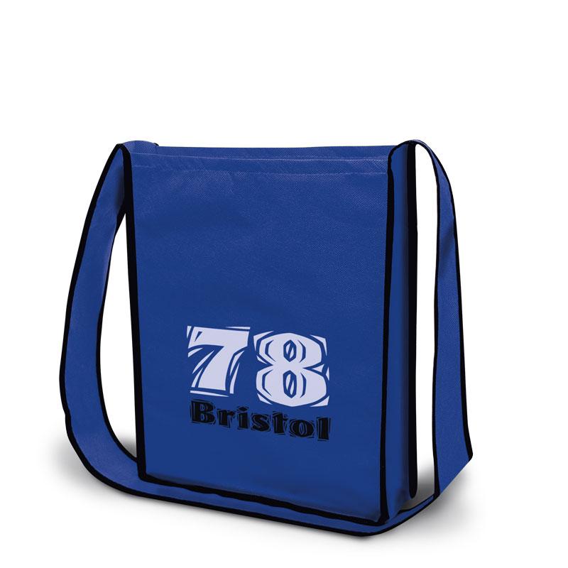 Non-Woven Tasche Bristol in blau