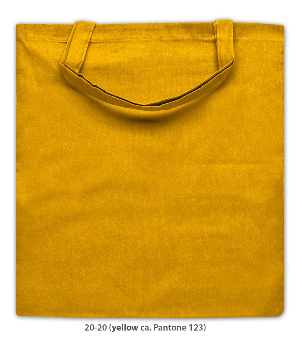 Baumwolltasche Kapstadt in gelb