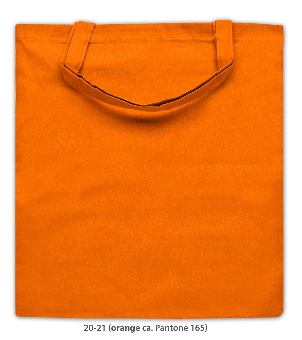 Baumwolltasche Kapstadt in orange