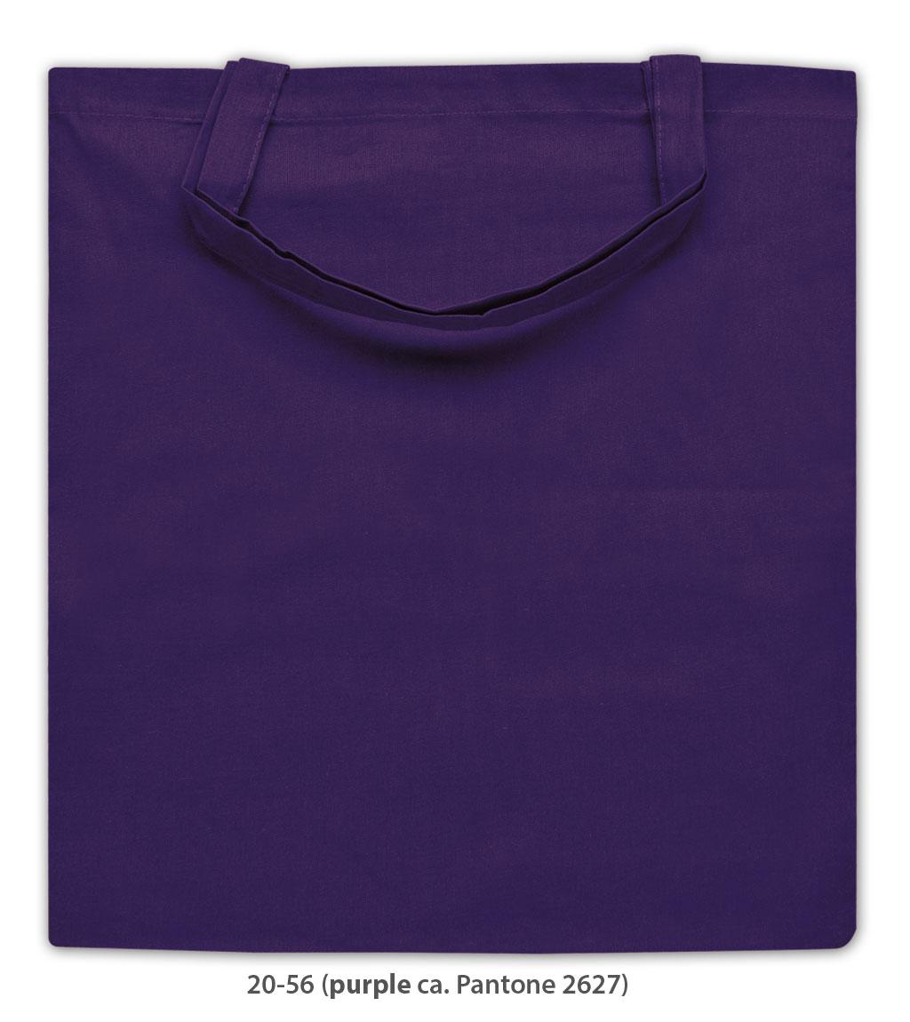 Baumwolltasche Kapstadt in violett