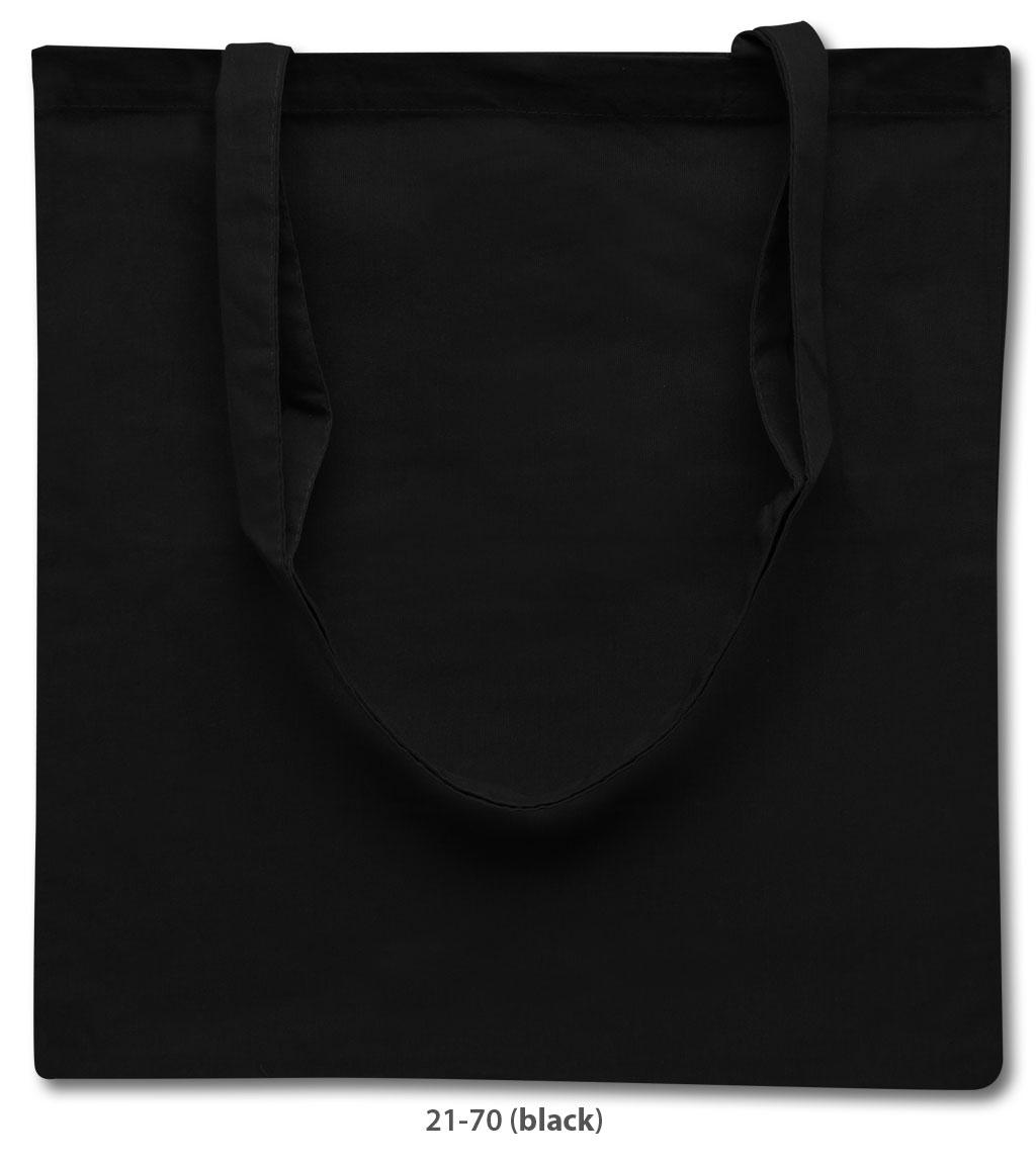 Baumwolltasche Riad in schwarz