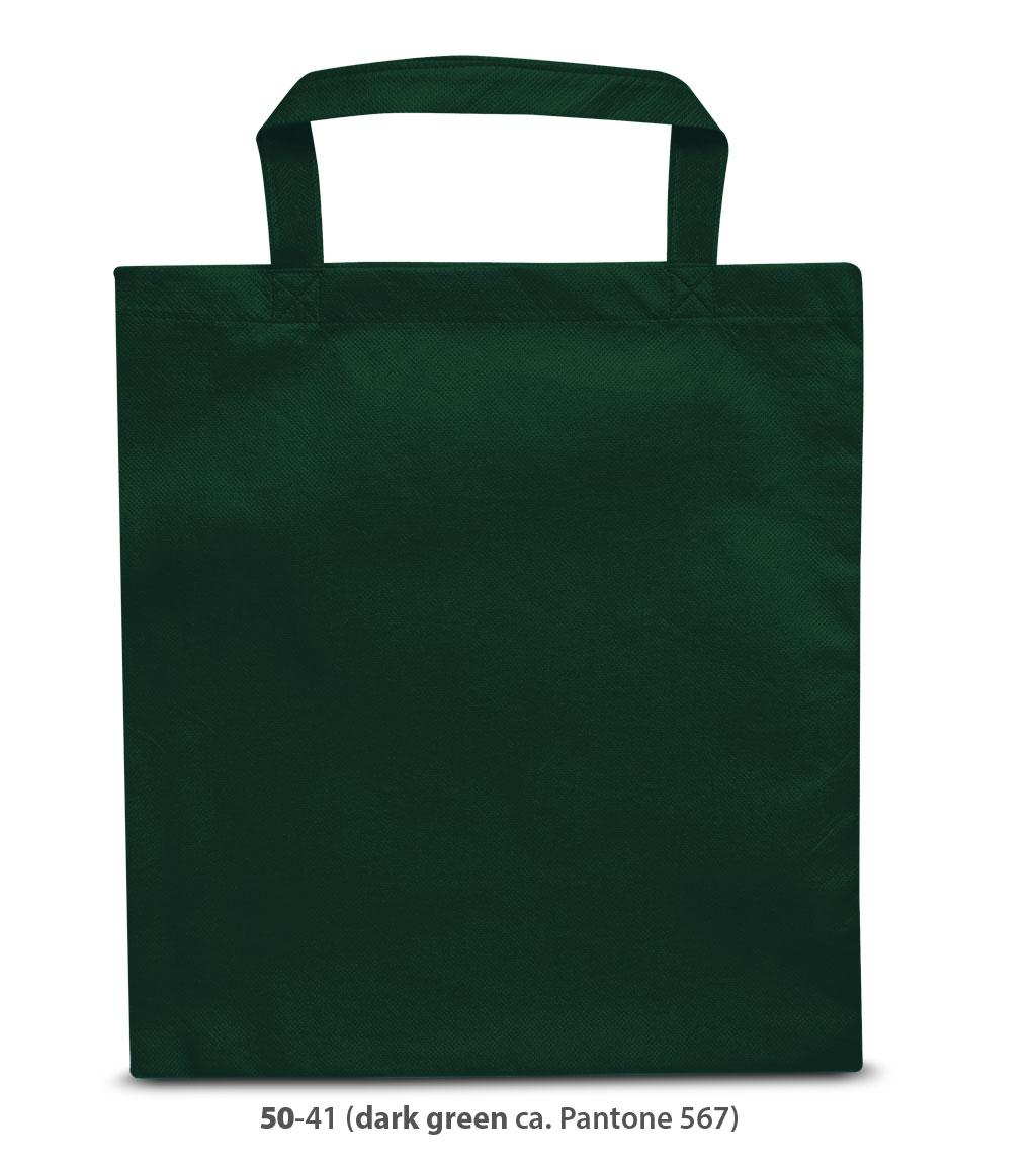 Non-Woven Tasche Wien in dunkelgrün