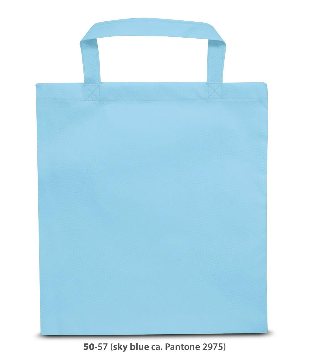 Non-Woven Tasche Wien in hellblau
