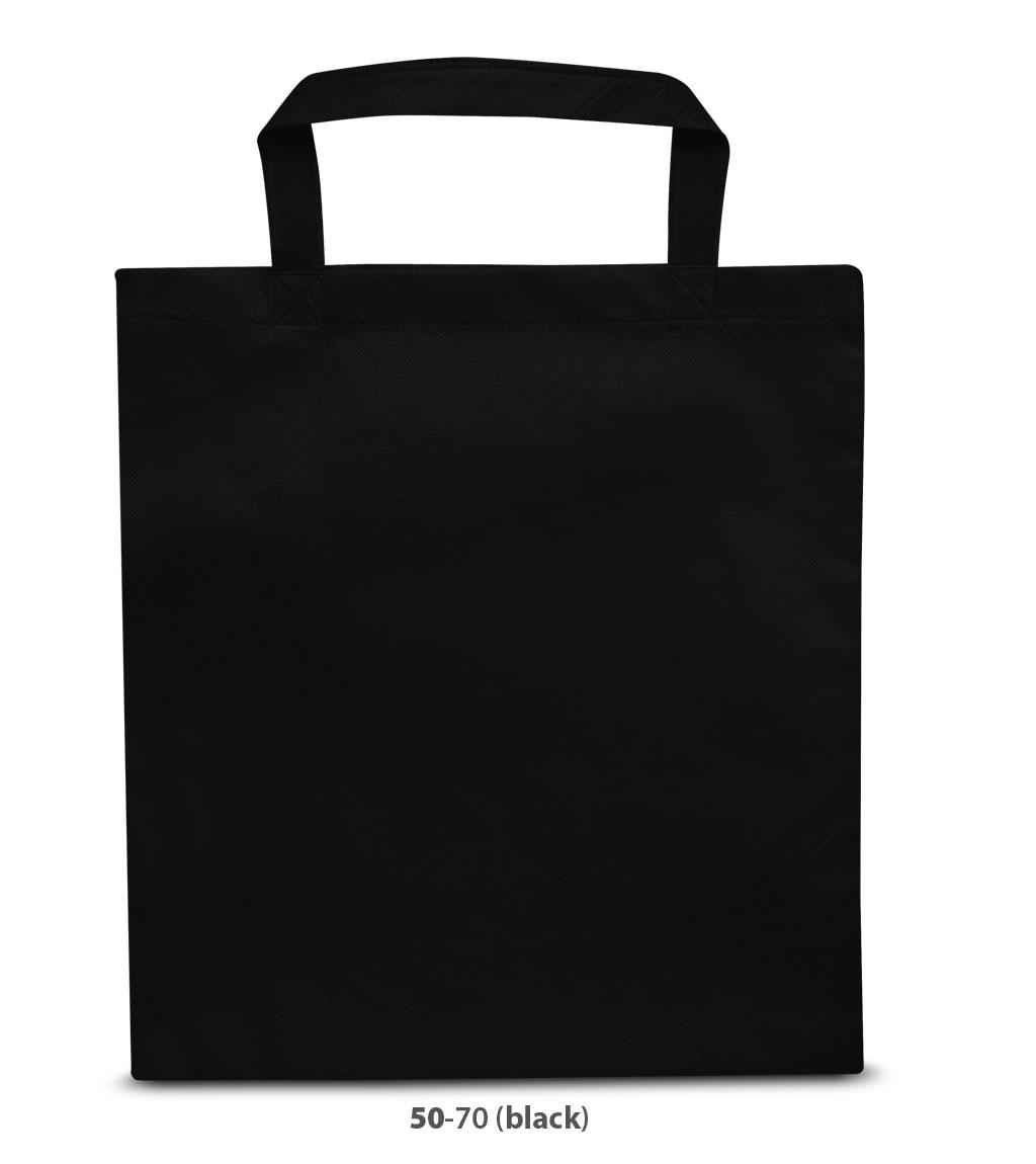 Non-Woven Tasche Wien in schwarz
