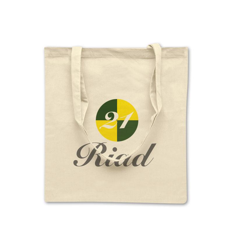 Baumwolltasche Riad in natur
