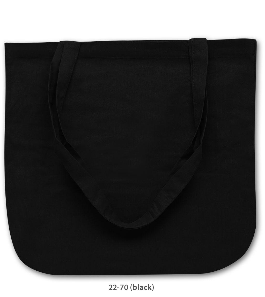 Baumwolltasche New York in schwarz