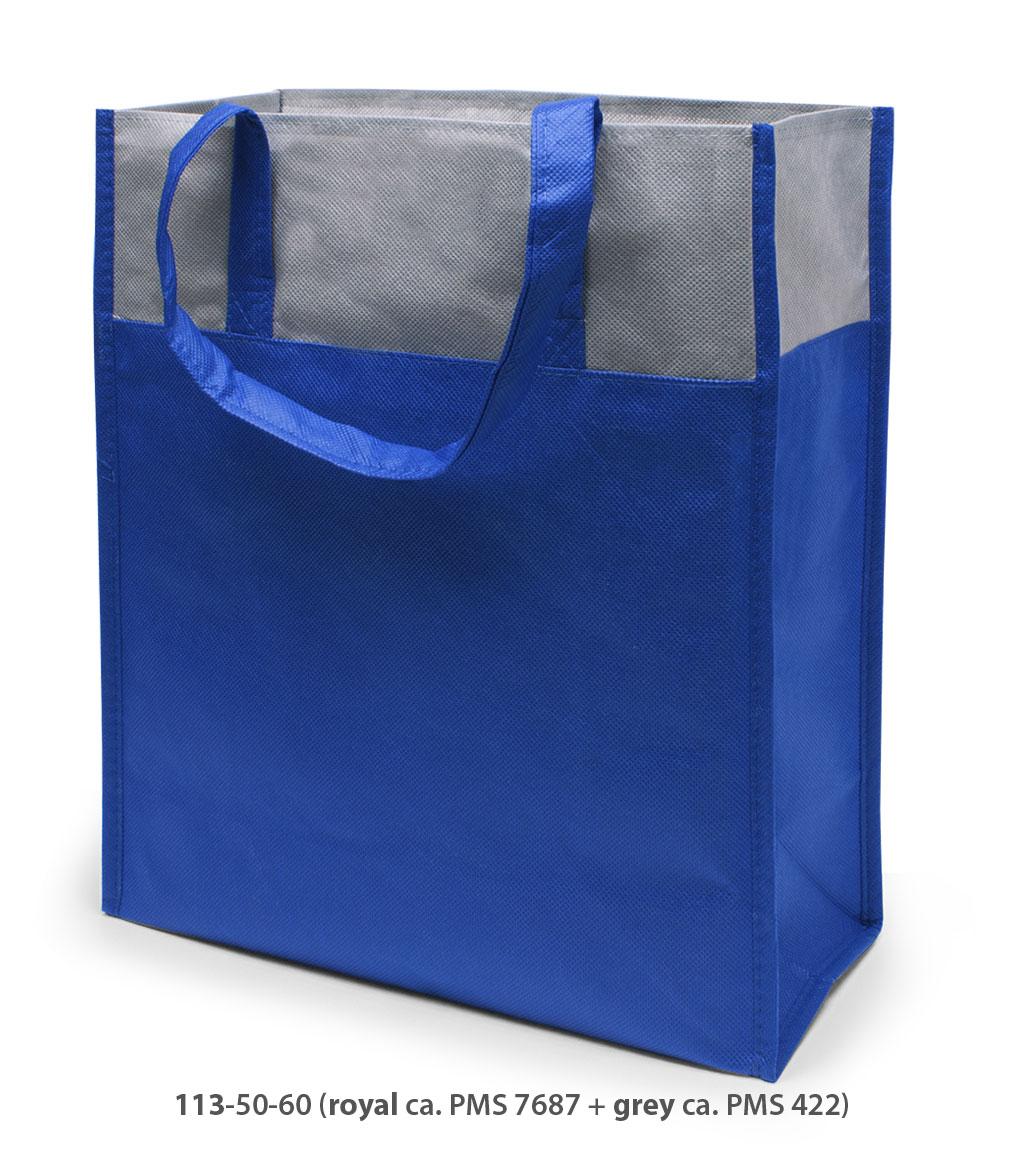 Non-Woven Tasche Brest in blau / grau