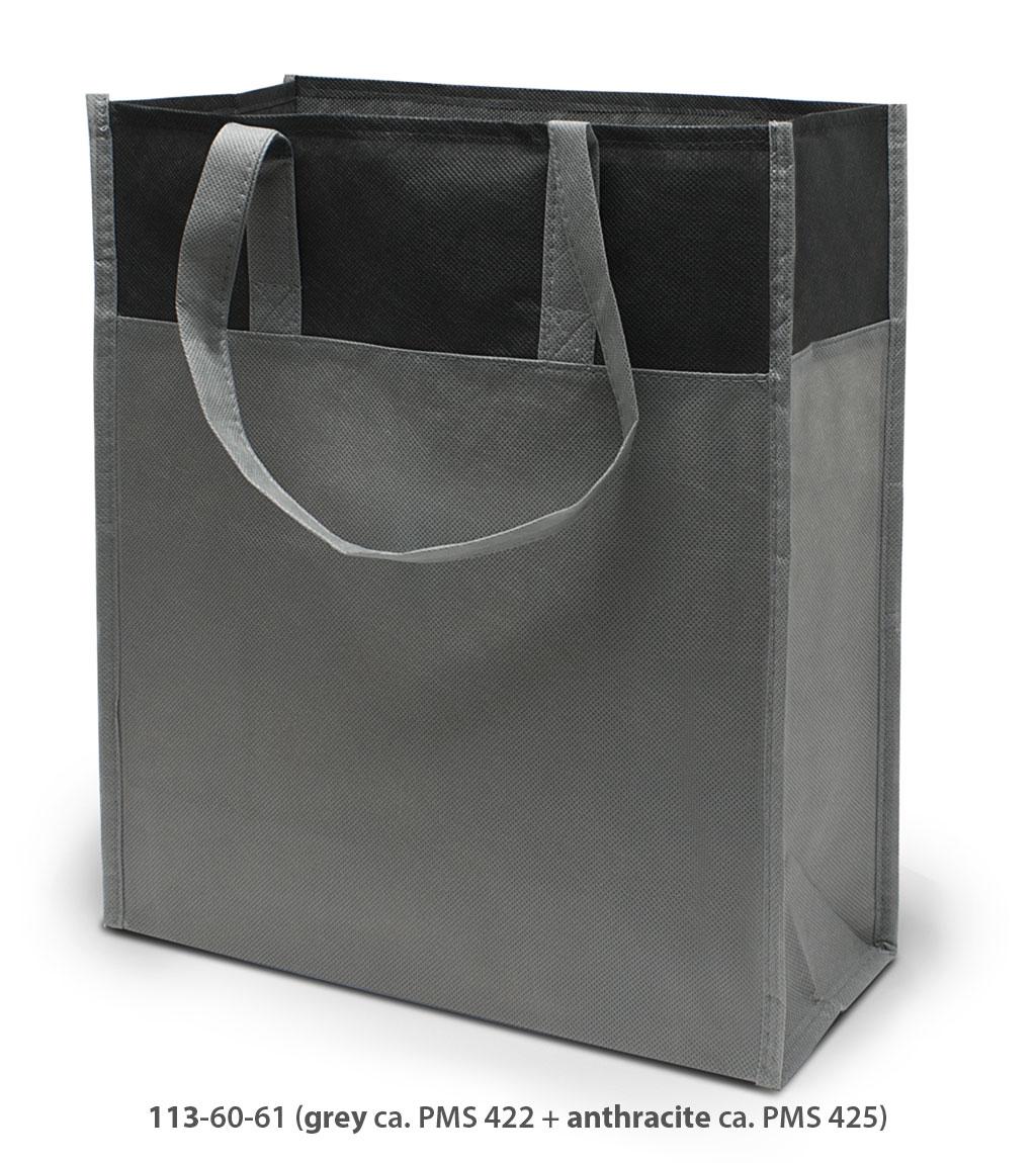 Non-Woven Tasche Brest in grau / dunkelgrau