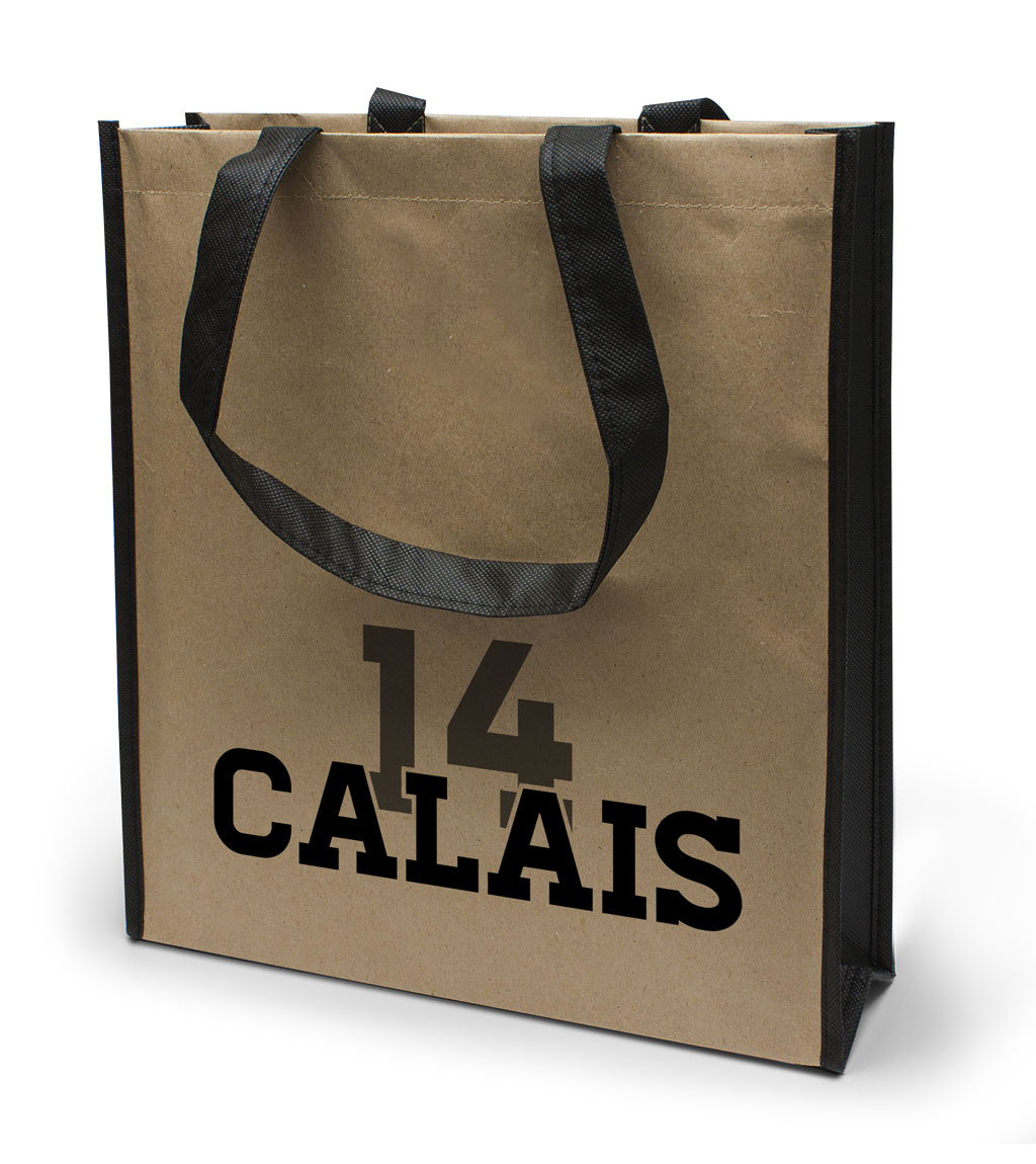 Coated Tasche Calais in natur
