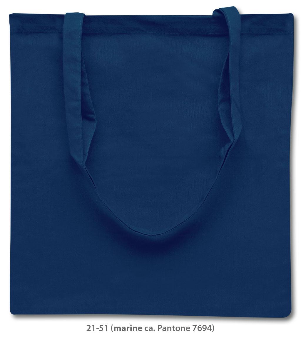 Baumwolltasche Riad in blau