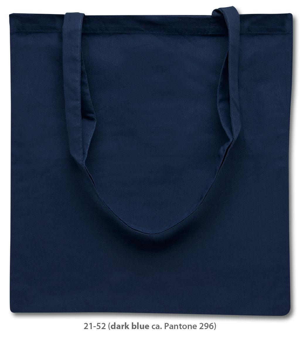 Baumwolltasche Riad in dunkelblau